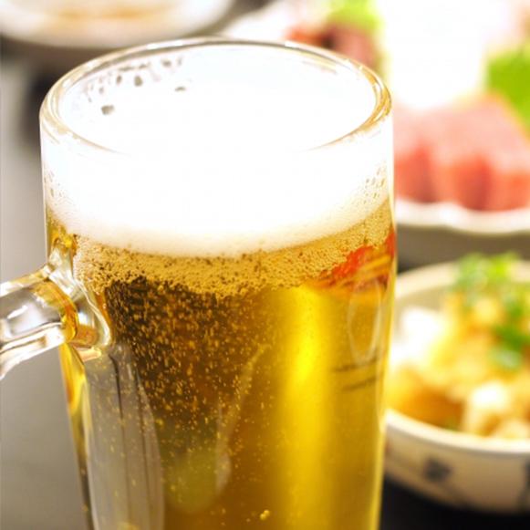 梅酒+ビール